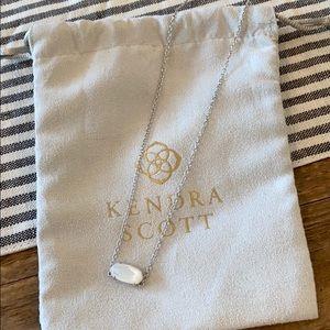 Kendra Scott - Silver/Pearl Stone Necklace